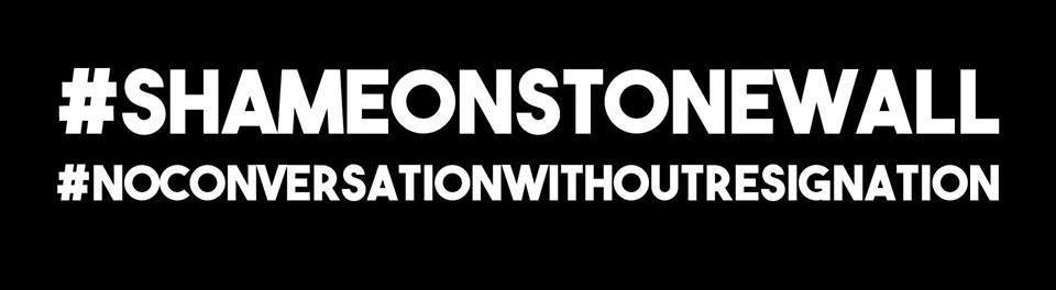 #ShameOnStonewall